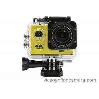 Buy cheap Waterproof 4K Wifi Action Camera For Outdoor Sports , Allwinners V3 DSP from wholesalers