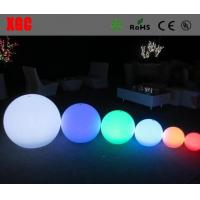 Buy cheap Rechargeable charger color changing LED illuminated ball light Led peach Lights from wholesalers