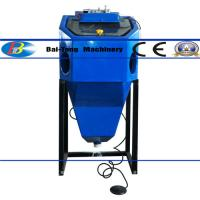 Buy cheap Mini Suction Type Wet Sandblasting Cabinet 450*450*400mm Work Cabinet product