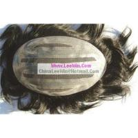 Buy cheap Hand-Made Human Hair Pieces from wholesalers