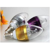 Buy cheap Aluminum E27 LED Candle Bulbs PC Cover For Household Decoration from wholesalers