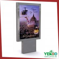 Buy cheap Two Side Aluminum Frame Advertising Crystal LED Light Box from wholesalers
