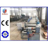 Buy cheap Reciprocating Working Mode Rubber Processing Machine Conveyor Belt Forming Machine from wholesalers