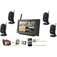 Buy cheap 2.4GHz Wireless Surveillance Camera Systems, Remote view security cctv systems product