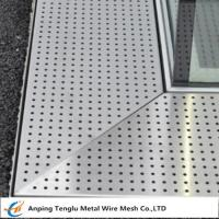 Buy cheap Perforated Metal Grating|Made by Stainless Steel for Constructions from wholesalers
