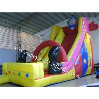 Buy cheap commercial inflatable jumping castle with slide , inflatable slide,inflatable slip n slide from wholesalers