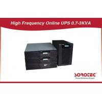 Buy cheap Black Color Rack Mounted Ups Battery Backup With Abm Battery For Chip Fabrication from wholesalers