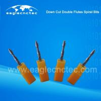 Buy cheap Double Flutes Spiral Downcut Router Bit For Sale from wholesalers