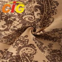 Buy cheap 100% Polyester decor Sofa Upholstery Fabric , Printed Suede Fabric for Sofa product