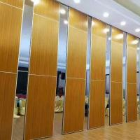 Buy cheap Sound Barrier Conference Hall Sliding Folding Walls System / Movable Partition Wall from wholesalers