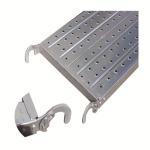 Buy cheap Stainless steel galvanized material scaffolding walking board catwalk work platform steel metal deck from wholesalers