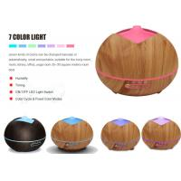 Buy cheap Best air aroma essential oil diffuser Mist Humidifier Ultrasonic China manfacturing OEM LOGO Yoga Spa wood grain from wholesalers