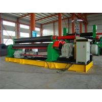 Buy cheap 3 Roll Plate Rolling Machine For 12mm Thickness 300mm Width Plate , 11KW Motor Power from wholesalers