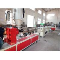 Buy cheap Computer Control Plastic Pipe Extrusion Machine , Twin Screw Pvc Tube Making Machine from wholesalers