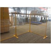 Buy cheap Construction Site Canada Temporary Fencing / Steel Welded Wire Mesh Custom Color product