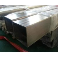 Buy cheap One Inch ERW Stainless Steel Hollow Tube Square Welded Polished Surface from wholesalers