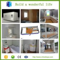 Buy cheap Hurricane proof prefab modular homes hotel room container cabin kits from wholesalers