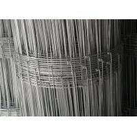 Buy cheap Livestock  Hog  Cow  Garden Yard 6ft High Wire Fencing Fabric  Galvanized 50m Or 100m / Roll product