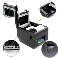 Buy cheap USB Auto Cutter 80mm Thermal Printer Cash Drawer Control For Restaurant from wholesalers