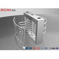 Buy cheap Pedestrian Swing Barrier Waist Height Turnstiles Entrance RIFD Access Control product