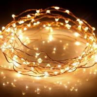 Buy cheap 33ft Long LED Rope Light 100 LEDs Battery Powered On Ultra Thin String Copper Wire from wholesalers