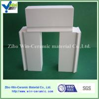 Buy cheap Wear resistant high alumina ceramic brick for ball mill with good price from wholesalers