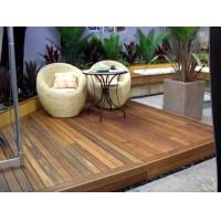 Buy cheap Waterproof carbonized Outdoor Decking Flooring from wholesalers