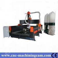 Buy cheap 4th axies servo engraving machine stone ZK-1325(1300*2500*500mm) from wholesalers