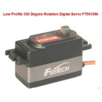 Buy cheap Low Profile 300 Degree Rotation Digital Servo FT5610M for rc car from wholesalers