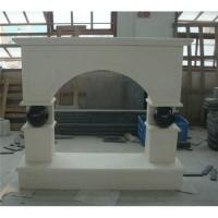 Buy cheap Marble fireplace mantles from wholesalers