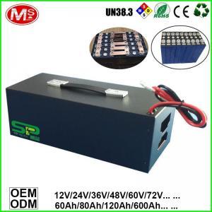 Buy cheap Vacuum Cleaner Car Tour Car Patrol Car Power Supply Portable Storage LiFePO4 Battery Backup Power 48V 200Ah product