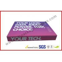 Buy cheap Soft Touch Lamination Rubber Finished Cardboard Gift Boxes Hi End USB Recyclable Display from wholesalers
