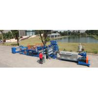 Buy cheap LDPE / EVA / TPU Plastic Extrusion Equipment , Plastic Extrusion Line from wholesalers
