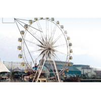 Buy cheap Colorful FRP and iron amusement park equipment  Ferris wheel with 72 seats from wholesalers