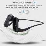 Buy cheap Wireless Bone Conduction Headphones Ear Bone Bluetooth Headset Bone Induction Headphones from wholesalers