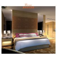 Buy cheap Country Style Hotel Bedroom Furniture Beds With Ash Wood And Plywood from wholesalers