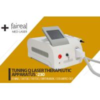 Buy cheap Portable Q Switch Laser Tattoo Removal Equipment With Infrared Ray Indicator from wholesalers