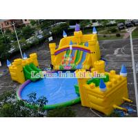 Buy cheap Medium UV Resistant Inflatable Water Park Equipment For Kids / Adults from wholesalers