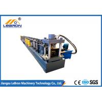 Buy cheap PLC Control Automatic Storage Rack Roll Forming Machine Durable quality Long Time Service Time made in china from wholesalers