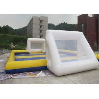 Buy cheap Waterproof 0.6mm PVC Inflatable Sports Field , Inflatable Football Pitch from wholesalers