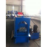 Buy cheap Automatic Roof Tile Ridge Cap Roll Forming Machine With Hydraulic Cutting CE from wholesalers