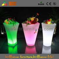 Buy cheap Banquet Hall Party Club LED Plant Pots AC110v-240v Environmentally Friendly from wholesalers