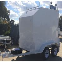 Buy cheap Fully Framed 8 x 5 Furniture Van Trailer , Single Axle Small Enclosed Utility Trailer from wholesalers