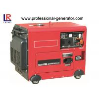 Buy cheap 68 dB 6.0kw Silent Portable Diesel Generator 120V/110V/220V/240V from wholesalers