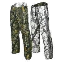 Outdoor Camouflage Hunting Suit Reversible Waterproof Camo Hunting Pants