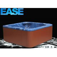 Buy cheap Square aristech cast acrylic massage bathtub 5 - 7 seats hot tub with balboa GS510SZ from wholesalers
