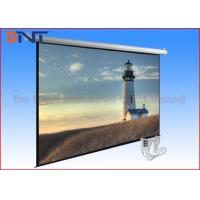 Buy cheap 100 Inch Electric Projector Screen , Motorized Rear Projection Screen from wholesalers