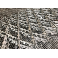 Buy cheap High Strength Galvanized Anti-Climb Welded Barbed Razor Wire mesh Fence from wholesalers