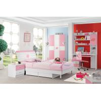 Cheap good quality pink color girls wholesale kids bedroom for Affordable quality bedroom furniture