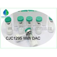 Buy cheap Medicine Grade Injectable Peptides CJC-1295 With DAC White Lyophilized Powder from wholesalers